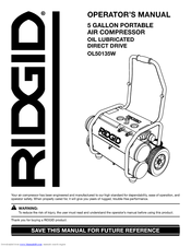 ridgid ol50135w manuals rh manualslib com Example User Guide User Guide Template