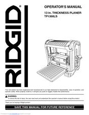 ridgid tp1300ls manuals rh manualslib com