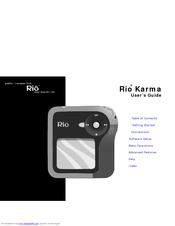 Rio Karma 20GB User Manual