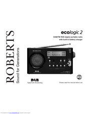 roberts ecologic 2 manuals rh manualslib com roberts ecologic 4 service manual Ecologic Fashion