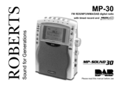 roberts mp 30 manuals rh manualslib com