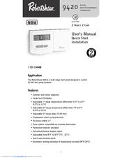 robertshaw 9420 manuals