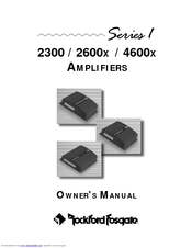 rockford fosgate 4600x manuals manuals and user guides for rockford fosgate 4600x we have 1 rockford fosgate 4600x manual available for pdf owner s manual