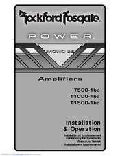 rockford fosgate power t500-1bd manuals rockford fosgate wiring harness
