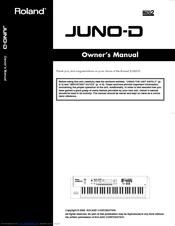roland juno d manuals rh manualslib com roland juno d manual instructions book pdf roland juno di manual