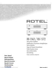 rotel rb 1562 manuals rh manualslib com