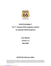 route 66 navigate 7 manuals rh manualslib com Route 66 Map Route 66 Map