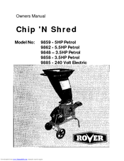 rover chip n shred 9862 manuals rh manualslib com