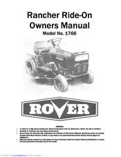 rover rancher 1766 owner s manual pdf download rh manualslib com Ford Workshop Manuals rover rancher 1866 workshop manual