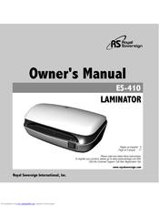 royal laminator manual