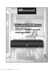 Russound CAM6.6X-S1/S2 Instruction Manual