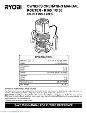 ryobi r160 manuals rh manualslib com