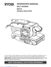 free pdf manual for sears 3 belt sander