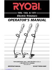 Ryobi 132r Manuals
