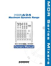 Samson mdr624 manual.