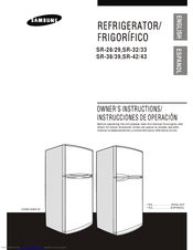samsung fridge freezer instruction manual