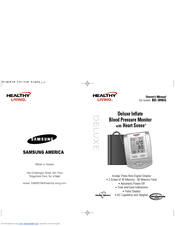 Samsung Healthy Living BD-3000S Owner's Manual