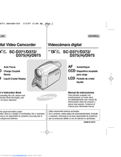 Samsung SC-D375 Owner's Instruction Manual