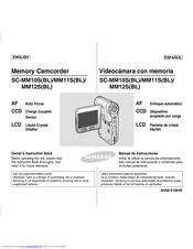 Samsung SC-MM10SBL Owner's Instruction Book