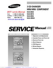 Samsung Max-b555 инструкция - фото 2