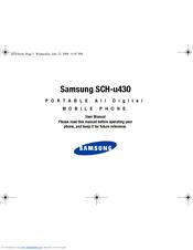 samsung sway sch u650 manuals rh manualslib com