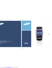 Samsung YP-T8 User Manual