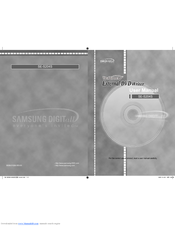 Samsung SE-S204N - TruDirect External 20x DVD-RW User Manual