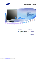 Samsung SyncMaster 710NT User Manual