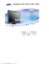 Samsung syncmaster 920n drivers download.