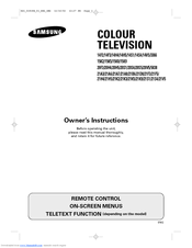 Samsung 14F2, 14F3, 14H4, 14H5, 14S1, Owner's Instructions Manual