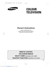 Samsung CS-21D8S Owner's Instructions Manual