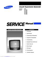 samsung txj1966 manuals rh manualslib com samsung crt tv repair manual Samsung Parts List