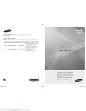 samsung ln52a850 52 lcd tv manuals rh manualslib com Samsung Washer Parts Manual Samsung SMT H3362 Manual