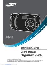Samsung digimax a502 camera user guide manual pdf | manualzz. Com.