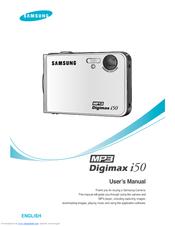 samsung digimax i50 mp3 manuals rh manualslib com samsung mp3 yp-q2 manual samsung mp3 yp-q2 manual