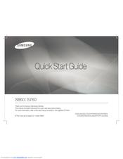 samsung s860 s760 quick start manual pdf download rh manualslib com Samsung S860 Camera Driver Samsung S87 Tablet