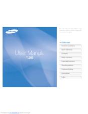 samsung tl205 manuals rh manualslib com Samsung TL205 Pickies How Many Are There Samsung TL205 Problems