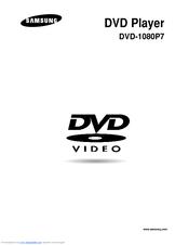 samsung dvd 1080p7 user manual pdf download rh manualslib com Samsung Refrigerator Repair Manual Samsung Manual PDF