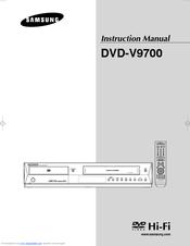 samsung dvd v9700 instruction manual pdf download rh manualslib com Samsung Owner's Manual Samsung TV Repair Manual