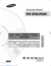 samsung vr330s instruction manual pdf download rh manualslib com Best DVD VCR Combo Recorder with Tuner Samsung DVD- V1000