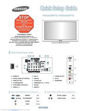 samsung pn50a450 manuals rh manualslib com Form Factor Micro ATX Icon ATX Motherboard