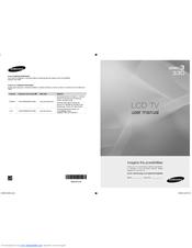 Samsung LN26A330J1DXZA User Manual