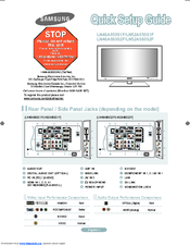 samsung ln52a850 52 lcd tv manuals rh manualslib com Samsung Schematics Samsung Washer Parts Manual