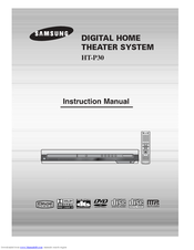 Samsung HT-P30 Instruction Manual