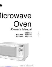 samsung sensor microwave instructions