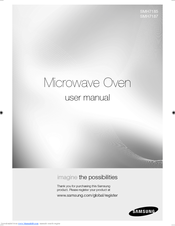 samsung microwave instruction manual