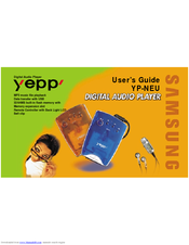 Samsung Yepp YP-NEU User Manual