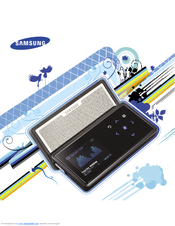 samsung yp k5 manuals rh manualslib com Samsung YP K-5 Samsung YP-P2 Player