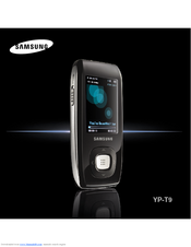 Samsung YP-T9BQB Owner's Manual