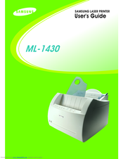 samsung ml 1430 series laser printer service repair manual
